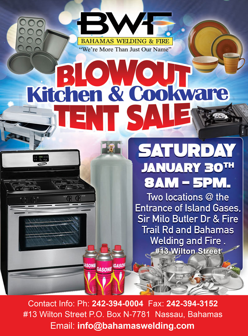 Kitchen and cookware on sale Bahamas Welding Fire