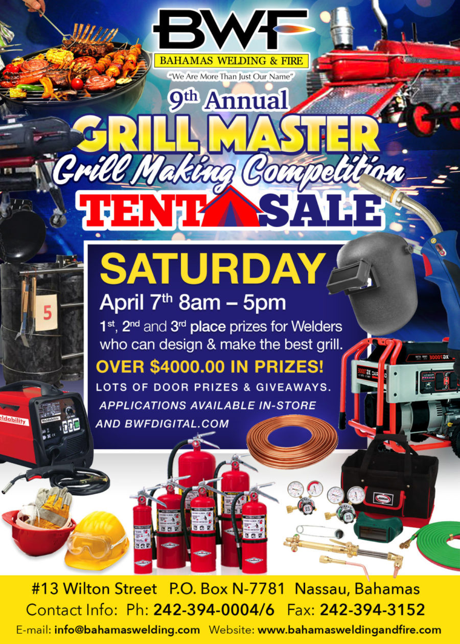 BWF Grill Master Competition Saturday, April 7